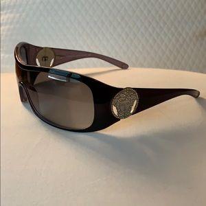 Versace sunglasses in purple